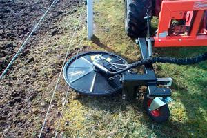 frisdal flexicut klipper græs under hegnstråd